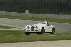 VINTAGE: #78 1958 Jaguar XK150: Max Heilman