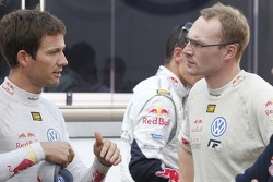 Sébastien Ogier and Jari-Matti Latvala