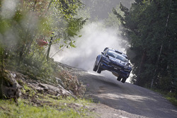 WRC: Mikko Hirvonen and Jarmo Lehtinen, M-Sport Ford Fiesta WRC