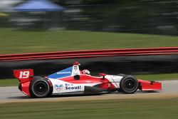 INDYCAR: Justin Wilson, Dayle Cone Racing Honda