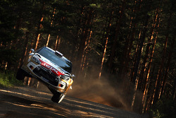 WRC: Kris Meeke and Paul Nagle, Citroën DS3 WRC, Citroën Total Abu Dhabi World Rally Team