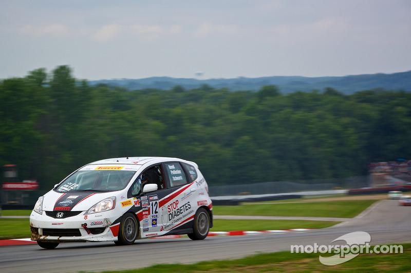 #12 Drive4Diabetes/Garrett Racing Honda Fit: Johan Schwartz
