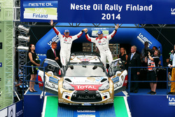 Third place Kris Meeke and Paul Nagle