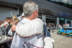Parc fermé: race winner Marco Wittmann, BMW Team RMG BMW M4 DTM celebrates with BMW Motorsport director Jens Marquardt