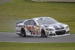 Jimmie Johnson, Hendrick Motorsports Chevrolet crash