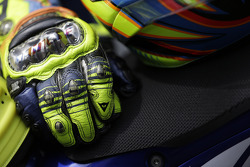 Gloves of Valentino Rossi