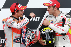 Marc Marquez and Andrea Iannone
