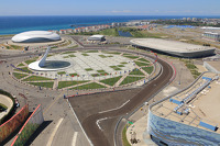 Preparation continues at Sochi Autodrom
