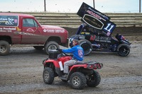 World of Outlaws official on track