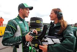 Andre Lotterer, Caterham F1 Team on the grid