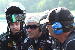 #07 TRG-AMR team watch the race