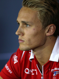 F1: Max Chilton, Marussia F1 Team