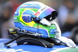 Augusto Farfus, BMW Team RBM BMW, BMW M4 DTM, helmet