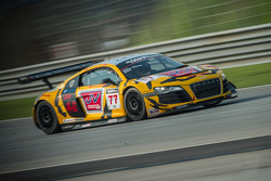 #77 Tiger Racing Audi R8 LMS GT3: Jacky Yeung, Marchy Lee