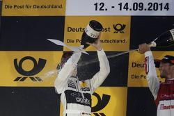 Podium: second place Christian Vietoris, Mercedes AMG DTM-Team HWA DTM Mercedes AMG C-Coupé