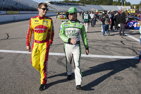 Landon Cassill and Ricky Stenhouse Jr.