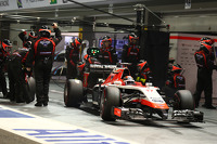 Jules Bianchi, Marussia F1 Team MR03 pit stop