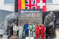 Gentleman Trophy podium: class winners Ian Loggie, Julian Westwood, second place Alexander Mattschull, Frank Schmikler, third place Stephen Earle, Freddy Kremer, Liam Talbot