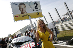 A lovely DTM grid girl