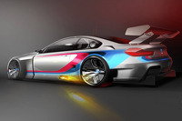 First rendering of 2016 BMW M6 GT3