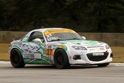 #27 Freedom Autosport Mazda MX-5: Liam Dwyer, Randy Pobst