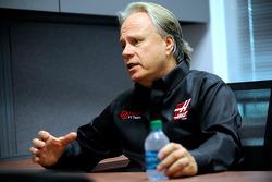 Gene Haas at the Haas F1 Team headquarters in Kannapolis, N.C.