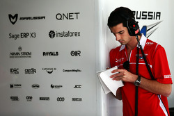 Alexander Rossi, Marussia F1 Team Reserve Driver