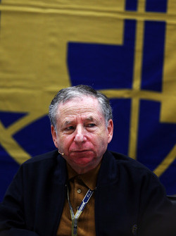 Jean Todt, FIA President at an FIA Press Conference to discuss the accident involving Marussia F1 Team Driver Jules Bianchi, at the Japanese GP in Suzuka
