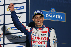 Race winner Sebastien Buemi