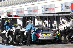 Pitstop, Daniel Juncadella, Mercedes AMG DTM-Team Mucke DTM Mercedes AMG C-Coupe