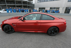 2014 DTM champion Marco Wittmann visits BMW factory