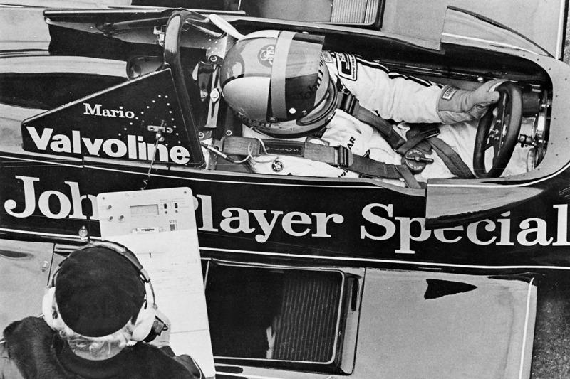 Mario Andretti and Colin Chapman