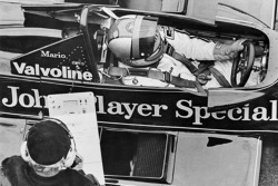 Mario Andretti and Colin Chapman