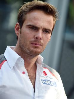 Giedo van der Garde, Sauber F1 third driver