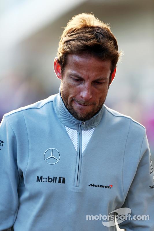 简森·巴顿,迈凯轮f1车队