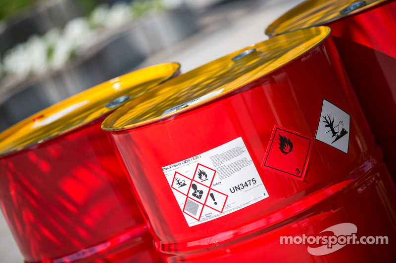 Shell fuel drums