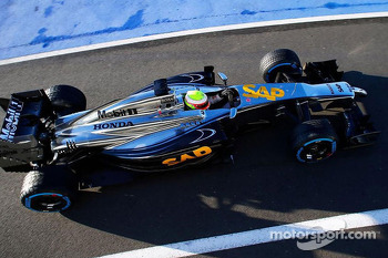 November McLaren promotional testing