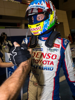 Alexander Wurz celebrates 6 Hours of Bahrain victory