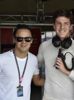 Felipe Massa and James Calado