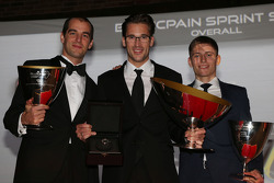 Blancpain Sprint Series-Drivers podium Jeroen Bleekemolen, Maximilian Buhk, Maximilian Götz