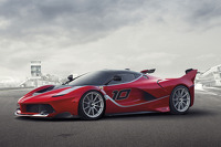 Ferrari unveils the FXX K