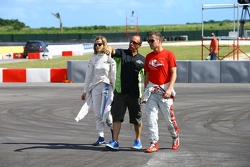 Susie Wolff and Tom Kristensen