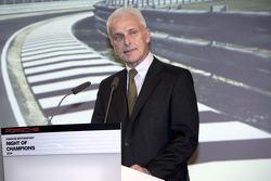 Porsche President and Chief Executive Officer. Matthias Müller