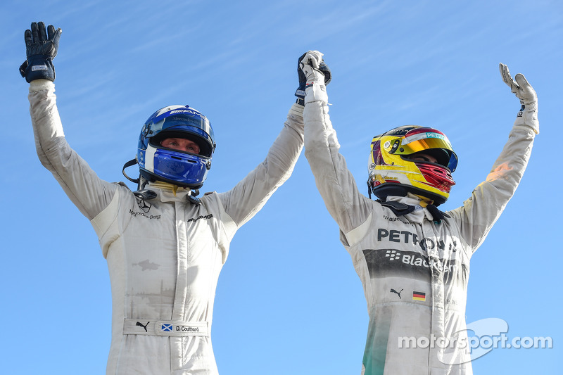 1. David Coulthard, 2. Pascal Wehrlein