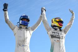Winnaar David Coulthard, tweede plaats Pascal Wehrlein