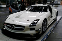 The new DragonSpeed Mercedes SLS AMG GT3
