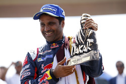 Car category winner Nasser Al-Attiyah