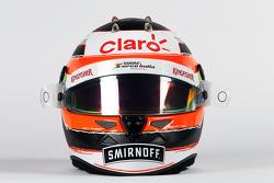Helmet of Nico Hulkenberg, Sahara Force India F1