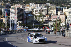 VIP rides in the Ford Fiesta WRC
