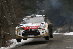 Sébastien Loeb en Daniel Elena, Citroën DS3 WRC, Citroën Total Abu Dhabi World Rally Team